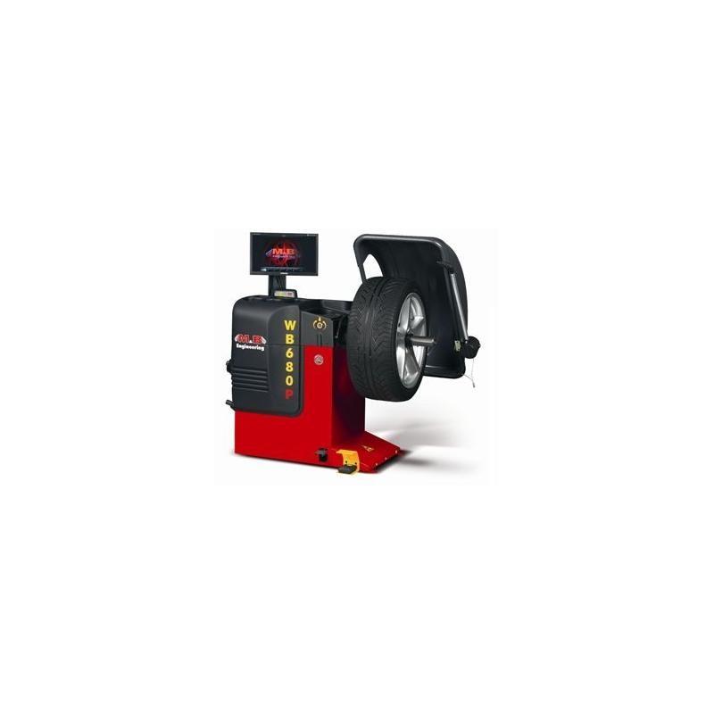 """Станок балансировочный, автоматический, """"ALUDATA"""" + Лазерное позиционирование, монитор LCD 17"""" + Пневмоприжим"""