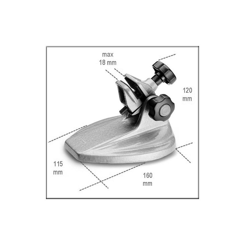 Beta 1658SP/1 - Стойка для микрометра, чугун