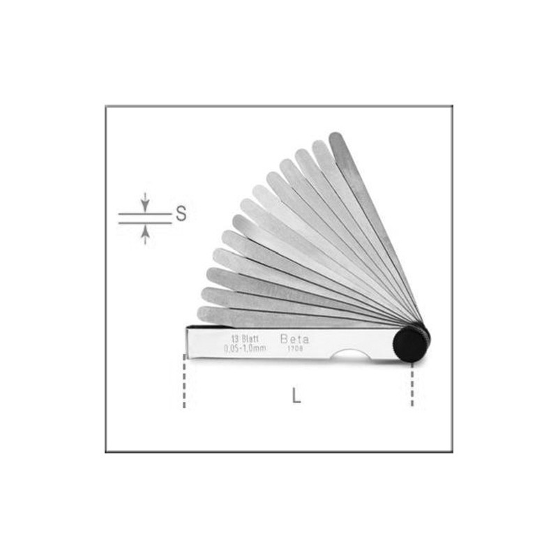 Beta 1708/8 - Набор метрических щупов