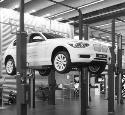 Автомобильный подъемник - как основа Вашего СТО!